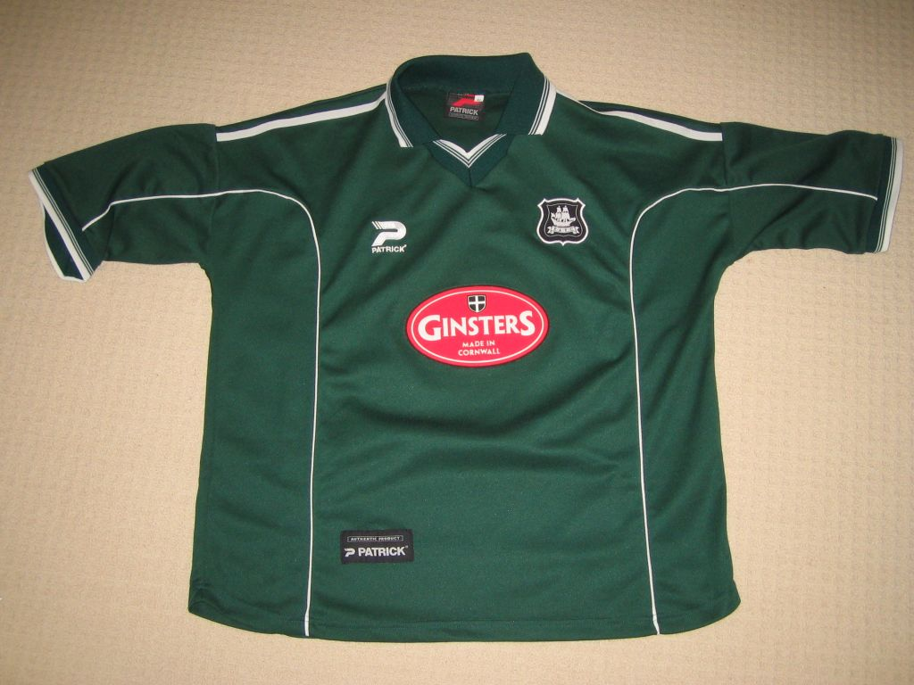 Plymouth Argyle Home Football Shirt 2002 2003 Added On