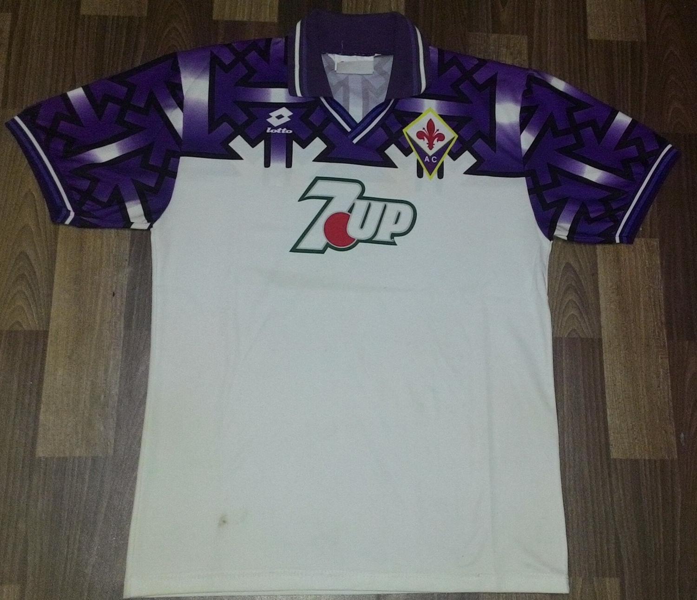 Fiorentina Maglia da trasferta maglia di calcio 1992 - 1993.