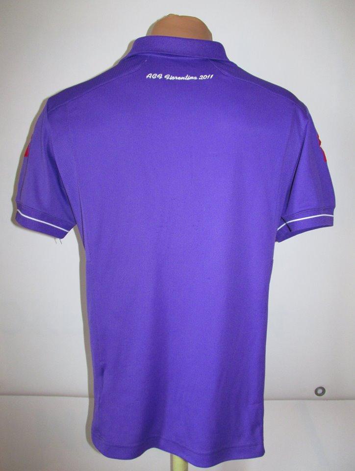 Fiorentina Home maglia di calcio 2011 - 2012.