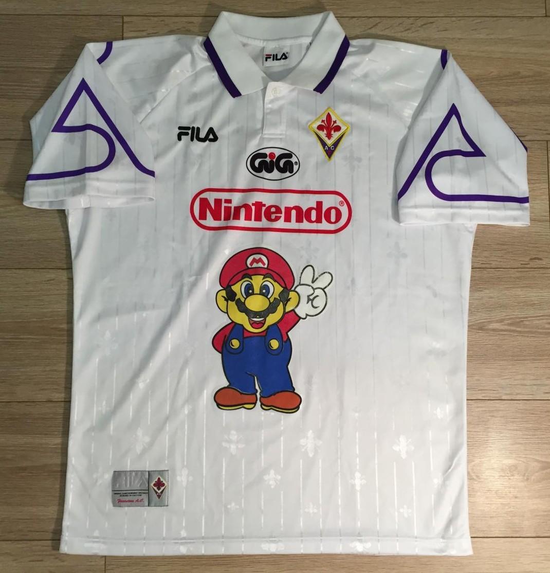Fiorentina Away football shirt 1996 - 1998.