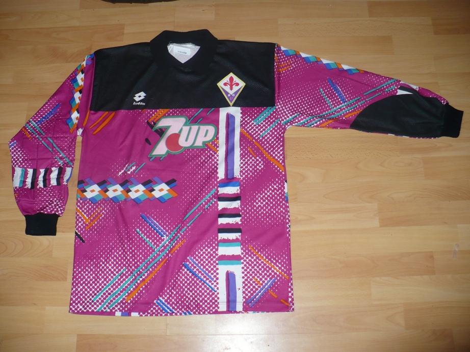 Fiorentina Portiere maglia di calcio 1992 - 1993.