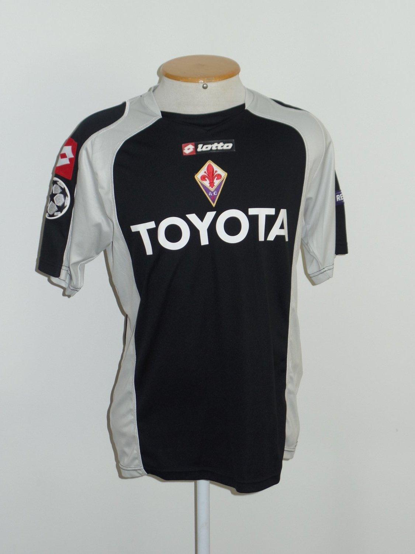 Fiorentina Portiere maglia di calcio 2009 - 2010. Sponsored by Toyota