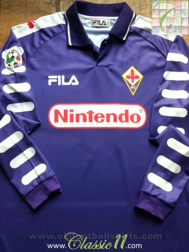 Fiorentina Home football shirt 1998 - 1999