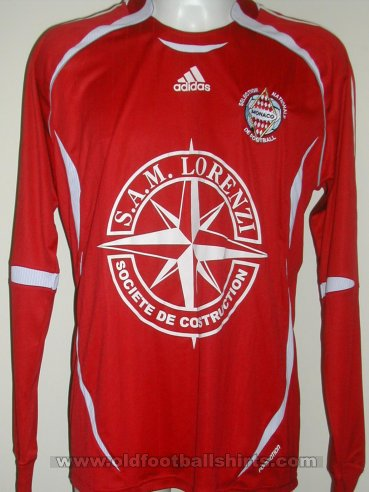 Monaco Away football shirt 2006 - 2008