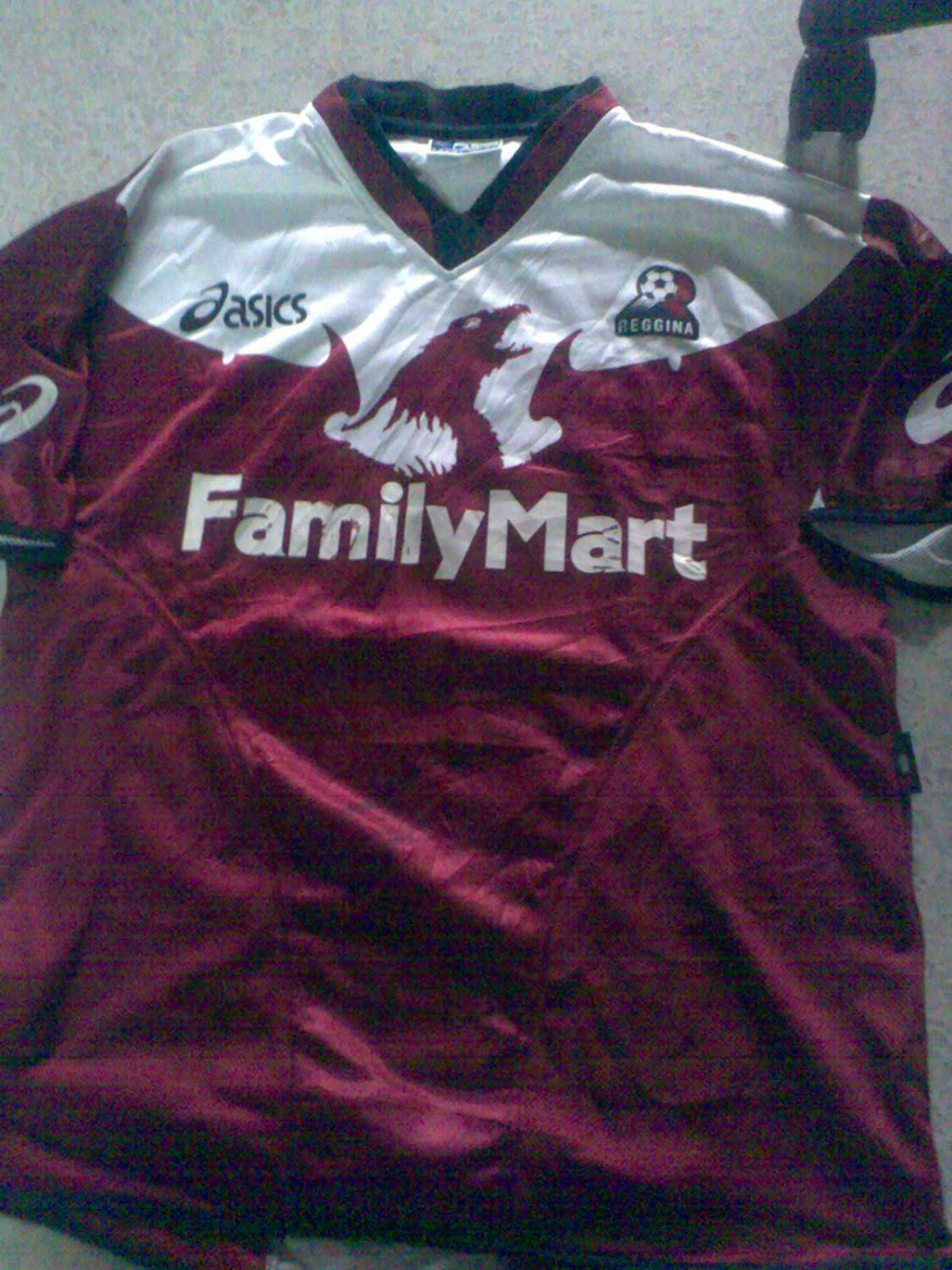 Reggina Home Football Shirt 2004 2005