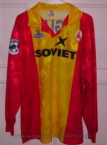 ASD Castel Di Sangro Home football shirt 1997 - 1998