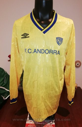 FC Andorra Away football shirt 1999 - 2000