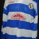 Kilwinning Rangers football shirt 1998 - 1999