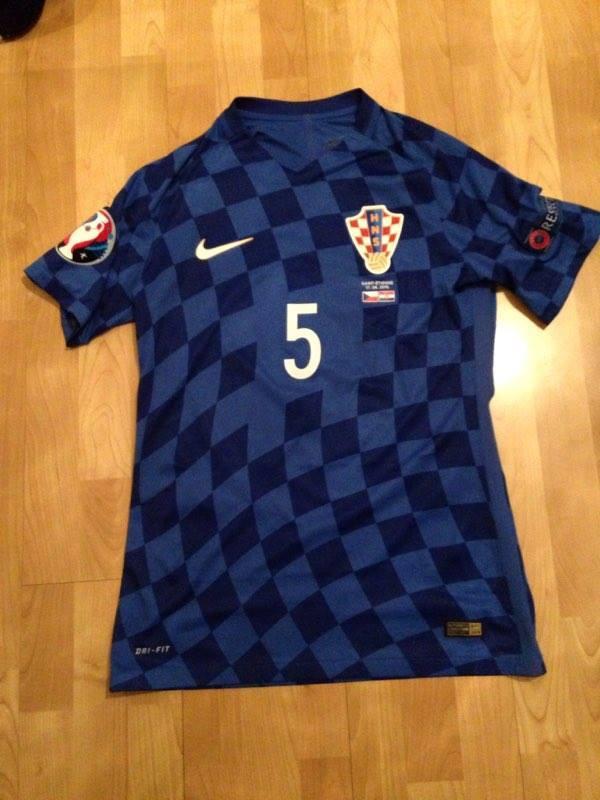 042f9997484 Croatia Away Maillot de foot 2016 - 2017.
