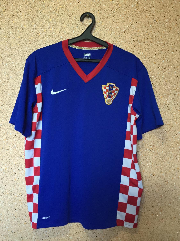 c3341d8691c Croatia Away Maillot de foot 2007 - 2009 ...