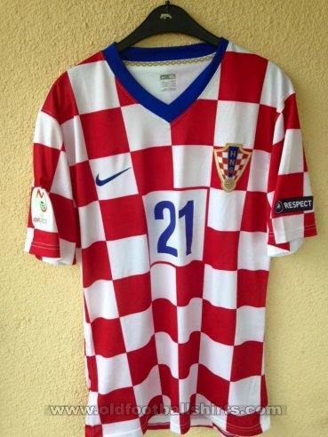 Croatia Home football shirt 2008 - 2009