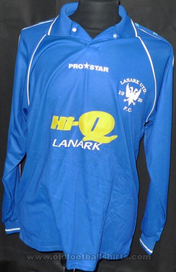 Lanark United Home Maillot de foot 2002 - 2003