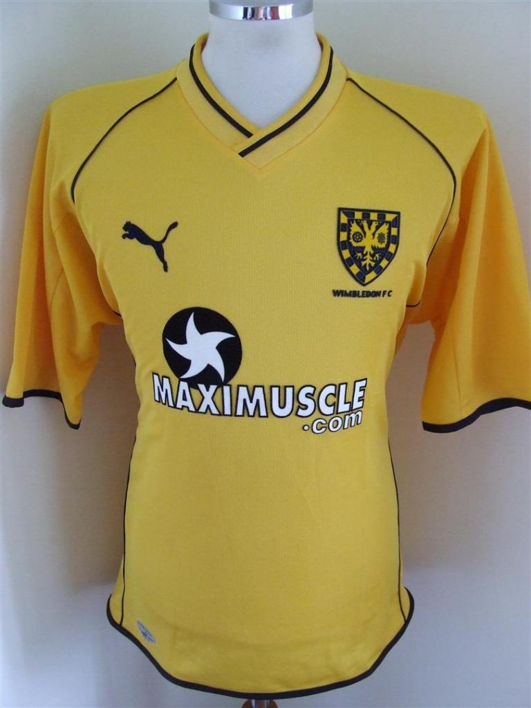 2XL 2001-02 Wimbledon Away Shirt