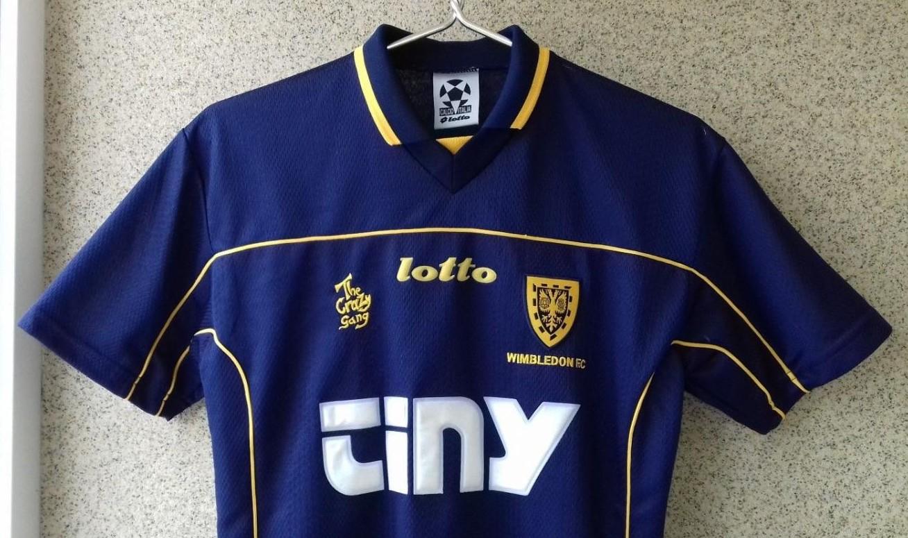 AFC Wimbledon Home Camiseta de Fútbol 1999 - 2000. Añadido por  Soccer  Shirt Football ... 4ec977c11