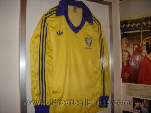 AFC Wimbledon Home football shirt 1978 - 1980