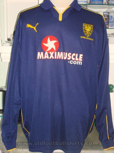 AFC Wimbledon Home football shirt 2001 - 2002