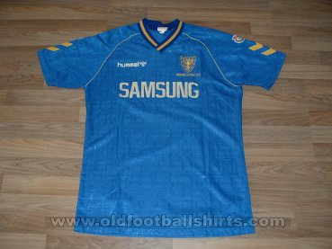 AFC Wimbledon Home football shirt 1990 - 1991