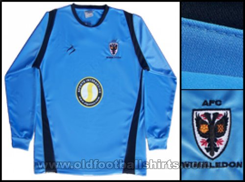 AFC Wimbledon Goalkeeper football shirt 2008 - 2009