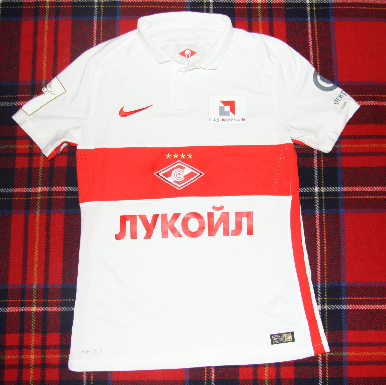 05500865d80 Spartak Moscow Away maglia di calcio 2015 - 2017 ...