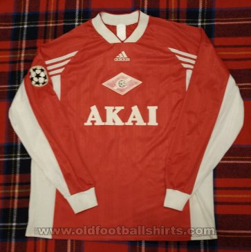 Spartak Moscow Home football shirt 1998 - 1999