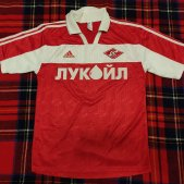 Spartak Moscow Home Maillot de foot 2000 - 2001