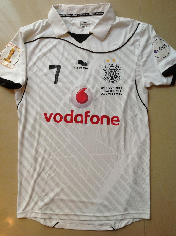 Al Sadd Sports Club Home Camisa De Futebol 2013