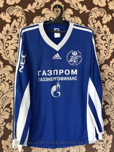 Zenit St Petersburg Home football shirt 1998