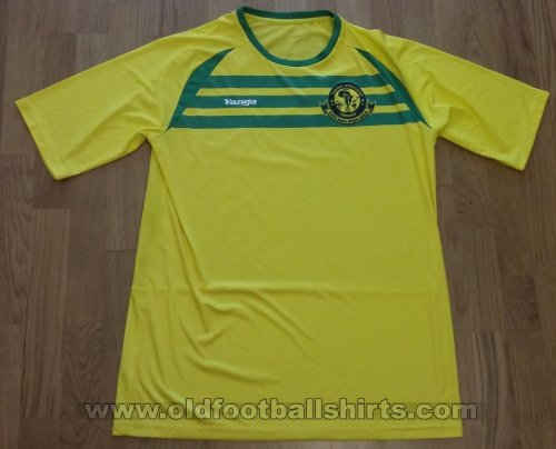 Young Africans S.C. Home football shirt 2014 - 2016