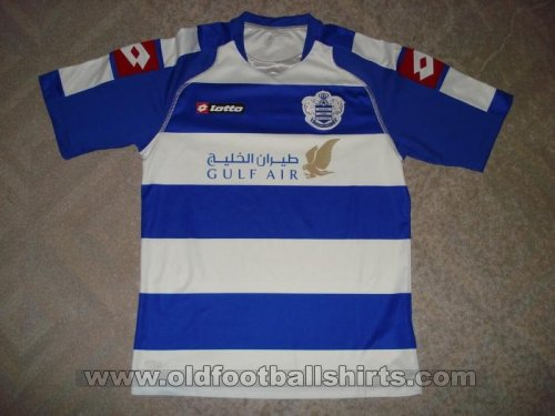 Queens Park Rangers בית חולצת כדורגל 2008 - 2009