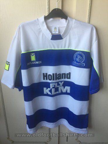 Queens Park Rangers Home חולצת כדורגל 1989 - 1990