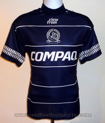 Queens Park Rangers Away football shirt 1995 - 1996