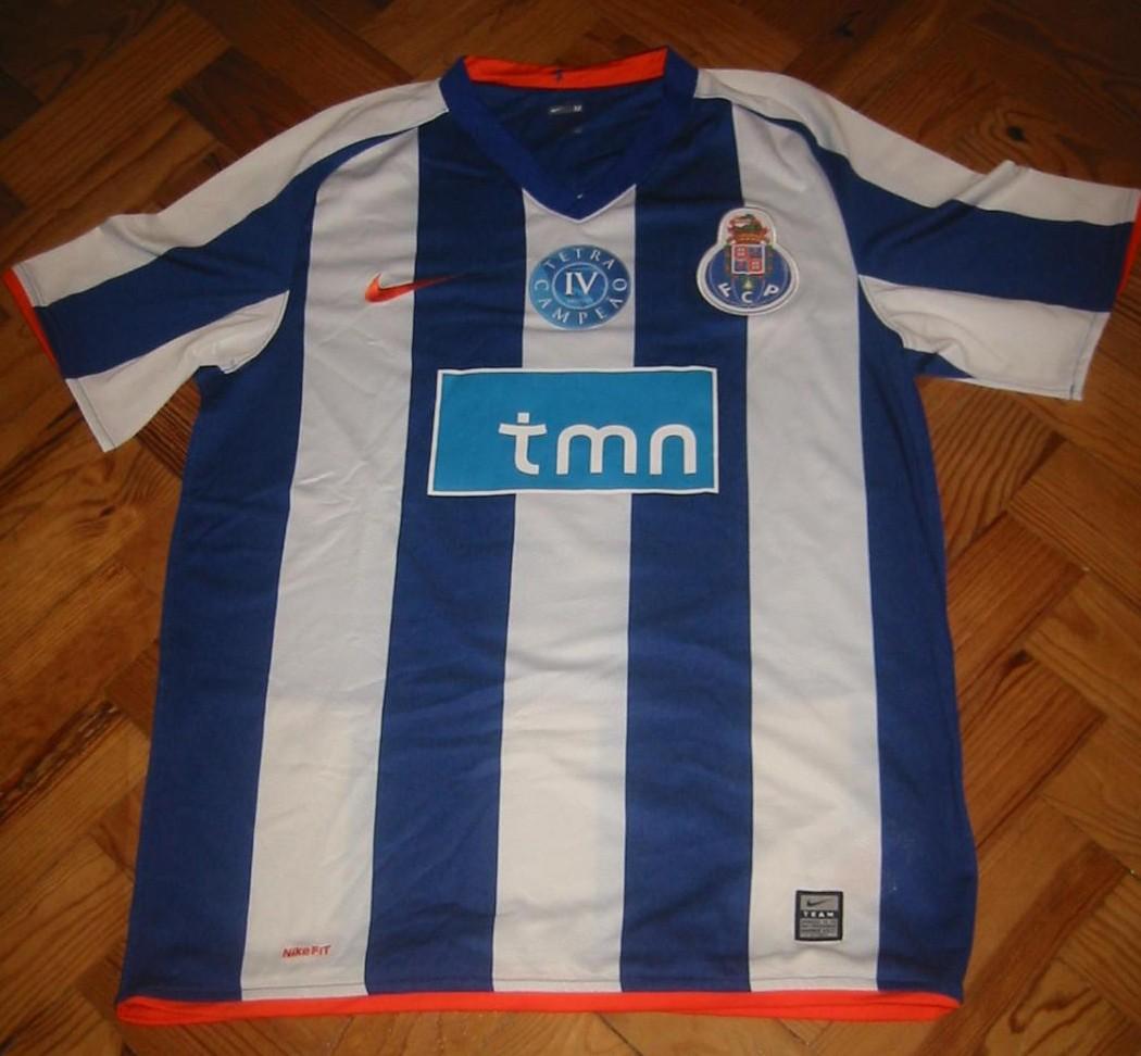 Porto Home camisa de futebol 2008 - 2009. d79d6af726dc6