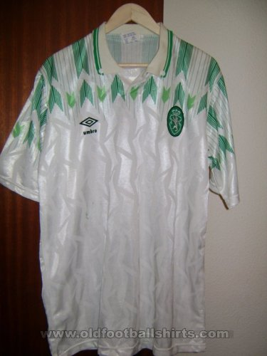 Sporting Club Away football shirt 1990 - 1991