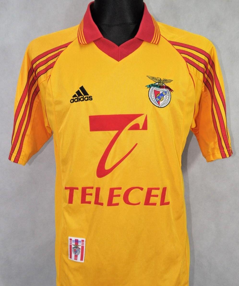 dc0bbd708c4 Benfica Away camisa de futebol 1998 - 1999.