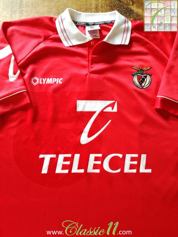 buy popular 6450c 17e00 Benfica Home maglia di calcio 1996 - 1997.