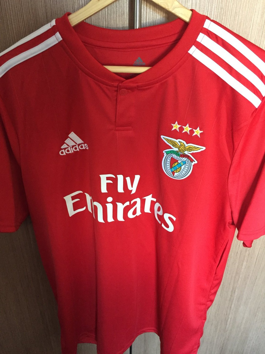 Benfica Home Football Shirt 2018 2019 Sponsored By Emirates