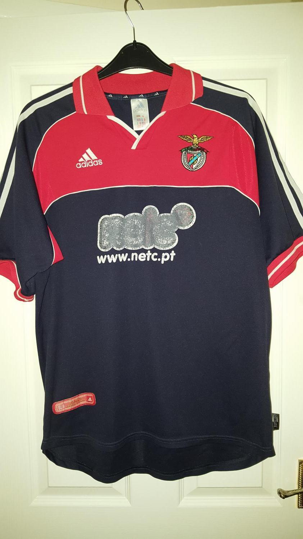 6a051a81f3a Benfica Away Maillot de foot 2000 - 2001.