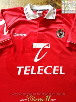 Benfica Home football shirt 1996 - 1997