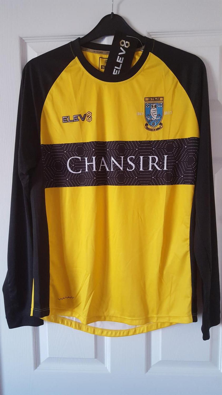86cb915e3c9 Sheffield Wednesday Goalkeeper football shirt 2017 - 2018. Sponsored ...