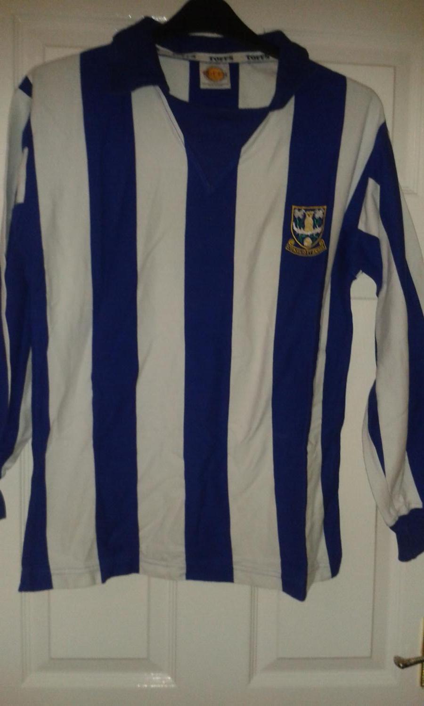 d5b8236df62 Sheffield Wednesday Retro Replicas football shirt 1970 - 1979 ...