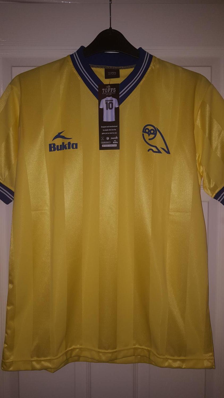 29ac2e05c6b Sheffield Wednesday Retro Replicas football shirt 1983 - 1984 ...