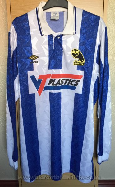 Sheffield Wednesday Home Fußball-Trikots 1989 - 1991