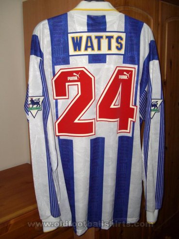 Sheffield Wednesday Home football shirt 1994 - 1996