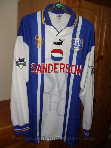 Sheffield Wednesday Home football shirt 1995 - 1997