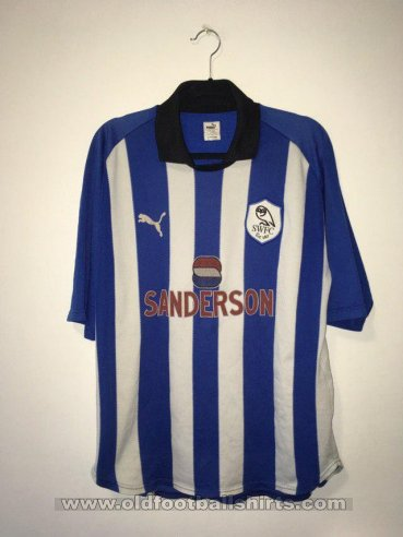 Sheffield Wednesday Home football shirt 1999 - 2000