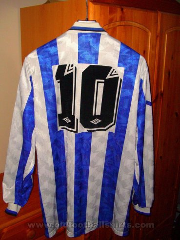 Sheffield Wednesday Home football shirt 1991 - 1992
