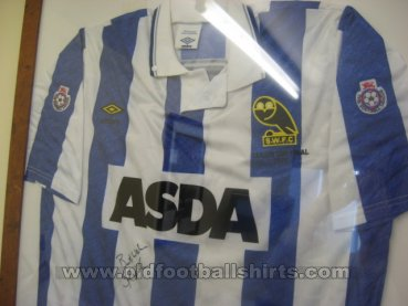 Sheffield Wednesday Cup Shirt football shirt 1991