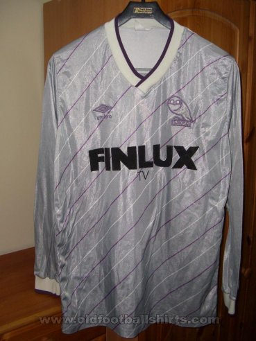 Sheffield Wednesday Away baju bolasepak 1987 - 1988
