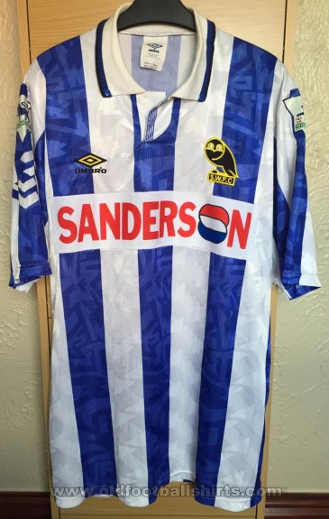 Sheffield Wednesday Special football shirt 1992