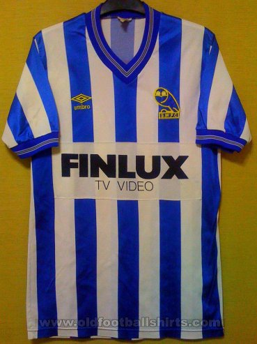Sheffield Wednesday Home football shirt 1985 - 1986